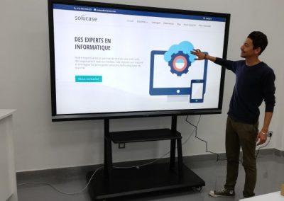 Installation écran intéractif ViewSonic 86 pouces