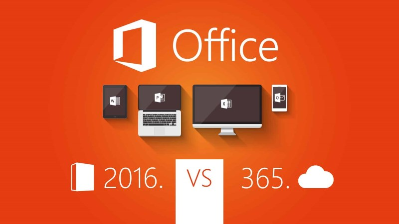 Différence entre Microsoft Office et Office 365